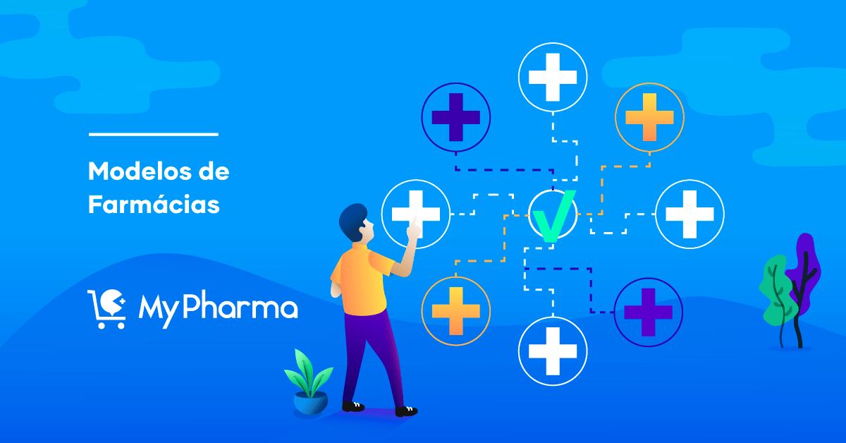 Um modelo de plano de negócios de farmácia de varejo de amostra